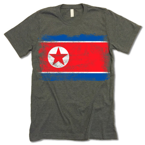North Korea Flag T-shirt