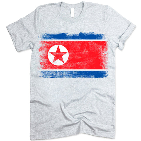 North Korea Flag shirt