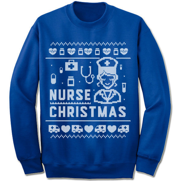 Nurse Christmas Sweater.Nurse Christmas Sweater Gifted Shirts