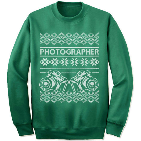 Photographer Christmas Sweatshirt