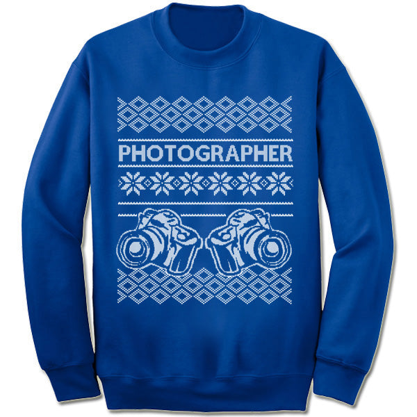 Photographer Sweater