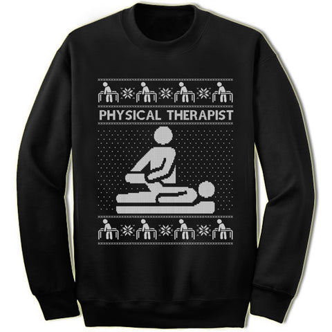 Physical Therapist Christmas Sweatshirt