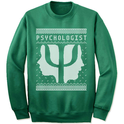 Psychologist Christmas Sweatshirt