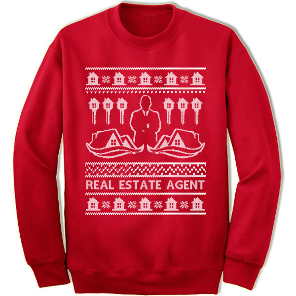 Real Estate Agent Sweatshirt