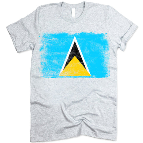 Saint Lucia Flag shirt