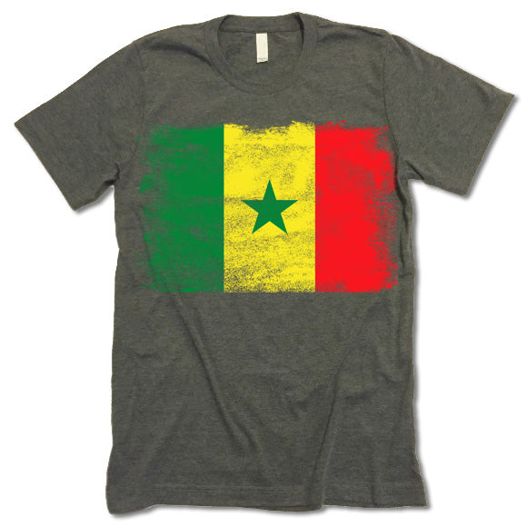 Senegal Flag T-shirt