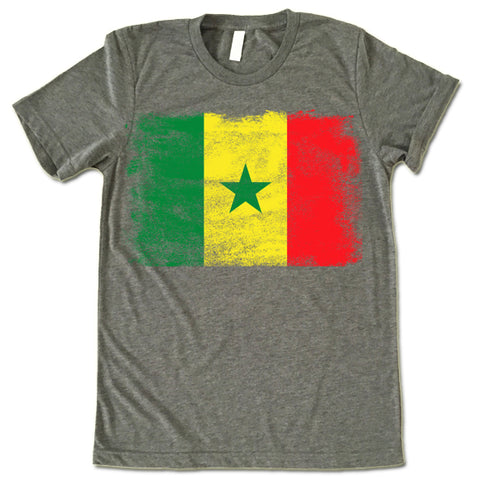 Senegal Flag shirt