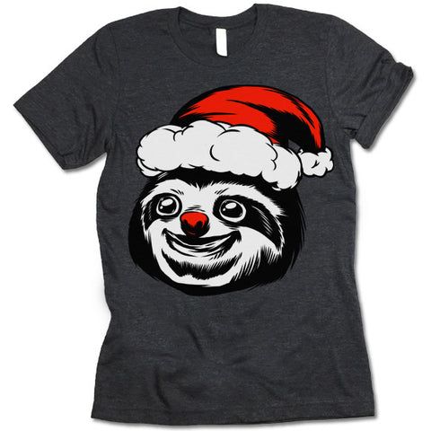 Sloth Christmas T-Shirt