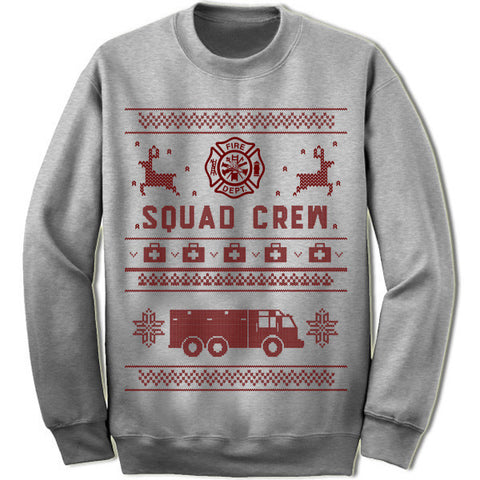 Squad Crew Christmas Sweater