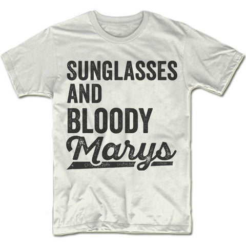 Sunglasses and Bloody Marys T-Shirt