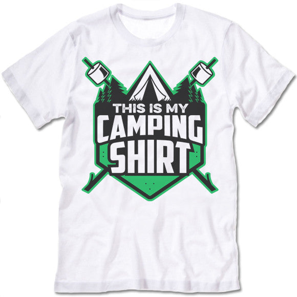 This Is My Camping Shirt T-Shirt