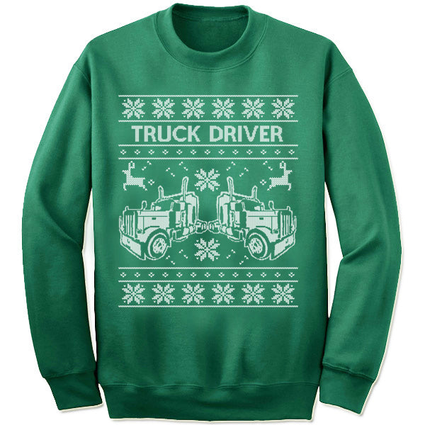 Truck Driver Sweater
