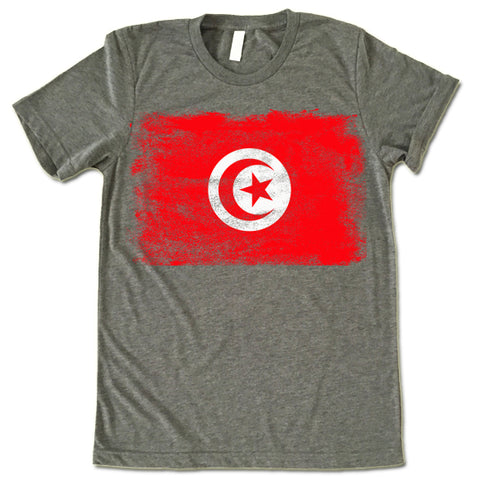 Tunisia Flag shirt