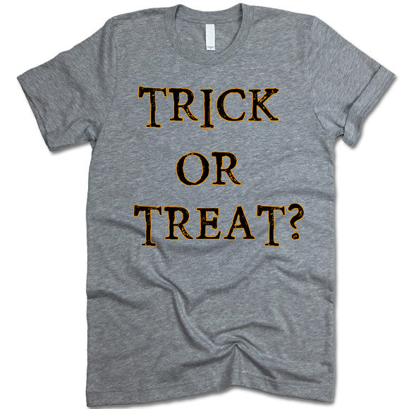 Trick or Treat Halloween Tee