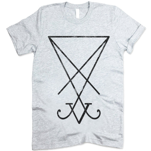 Occult Sigil Of Lucifer Satanic shirt