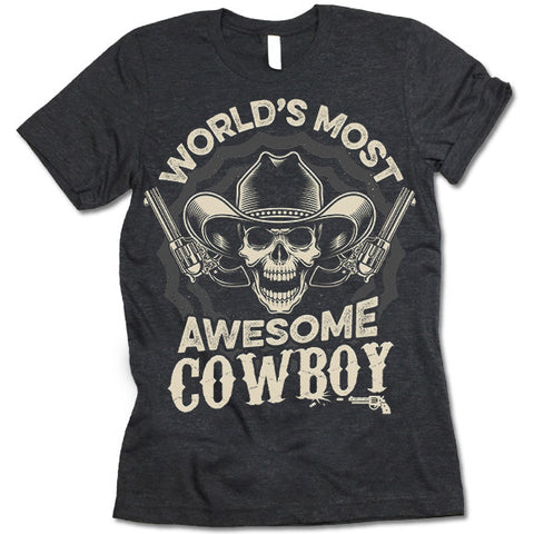 Awesome Cowboy T Shirt