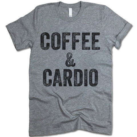 Coffee & Cardio Crewneck T-Shirt