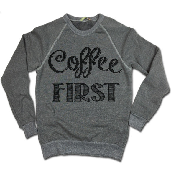 Coffee First UNISEX Sweater