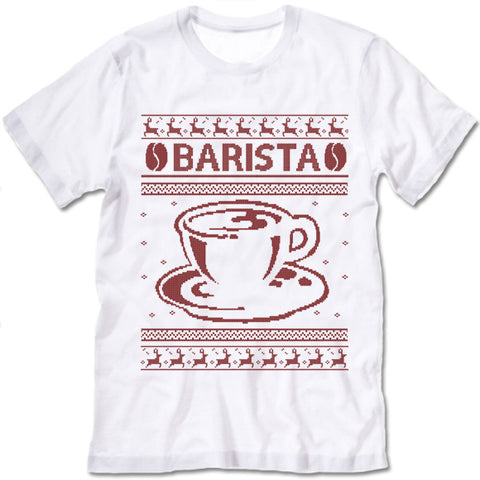 Barista Christmas T Shirt
