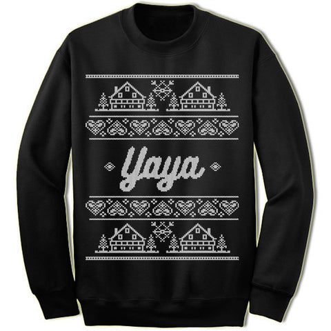 Yaya Christmas Sweater
