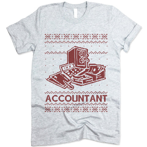 Accountant Christmas T Shirt