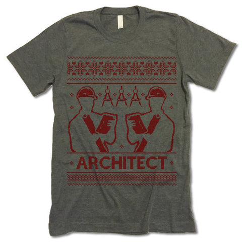 Architect Christmas T Shirt