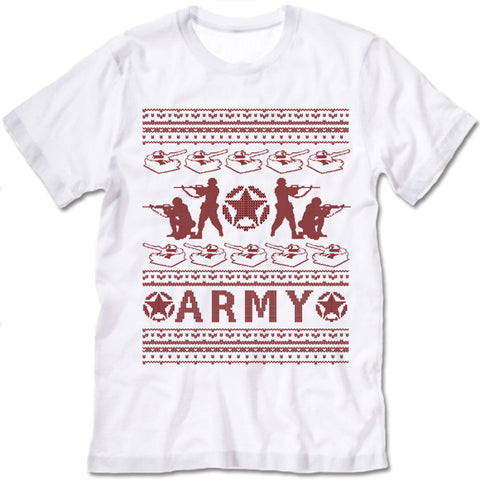 Army Christmas T Shirt