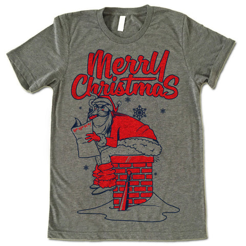 Merry Christmas From Bad Santa T-Shirt