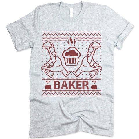 Baker Christmas T Shirt
