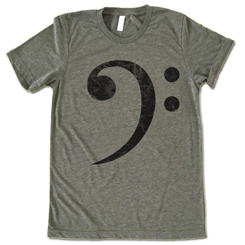 Music Sign Bass Clef T Shirt