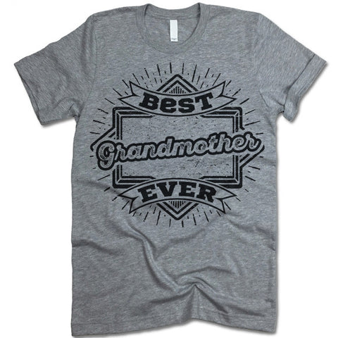 Best Grandmother Ever T Shirt