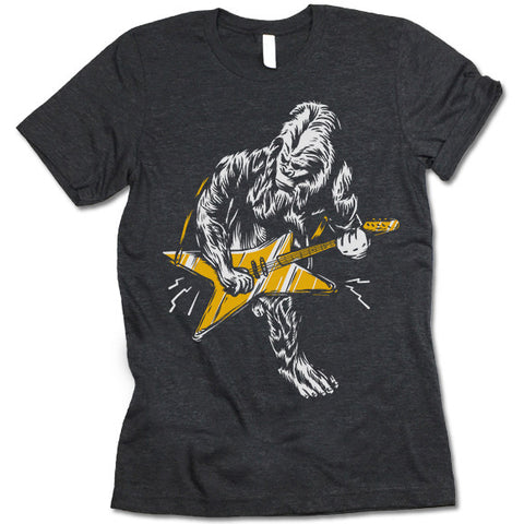 Big Foot Guitar T Shirt