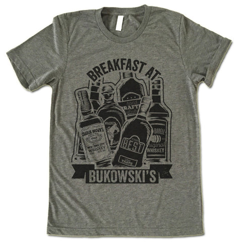 Breakfast At Bukowski's T Shirt