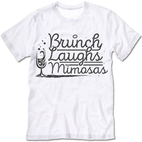 Brunch Laughs Mimosas T Shirt