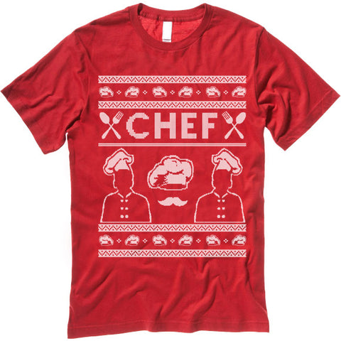 Chef Christmas T Shirt