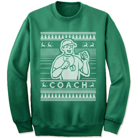 Coach Christmas Sweatshirt