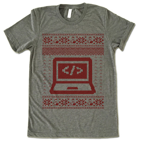 Coder Christmas T Shirt
