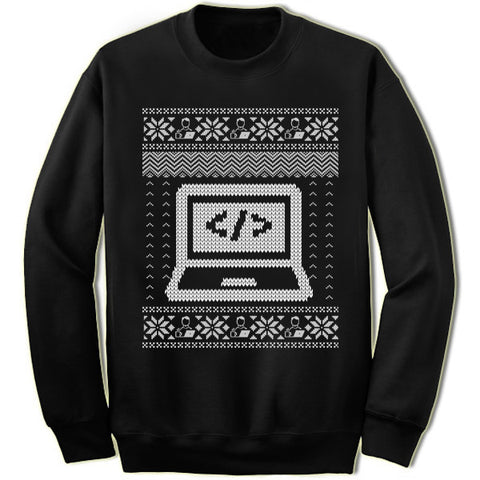 Coder Christmas Sweatshirt
