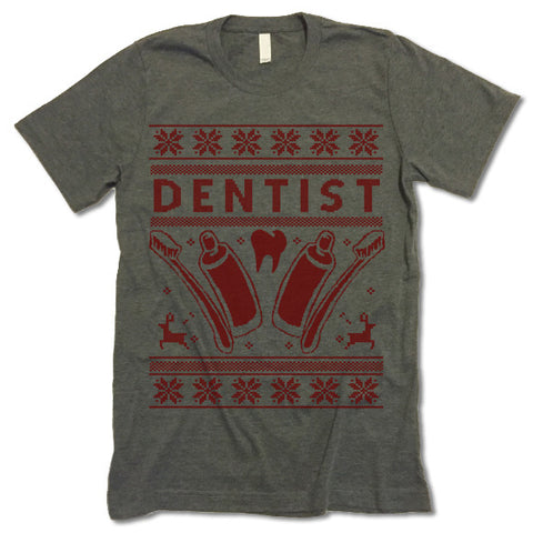 Dentist Christmas T Shirt