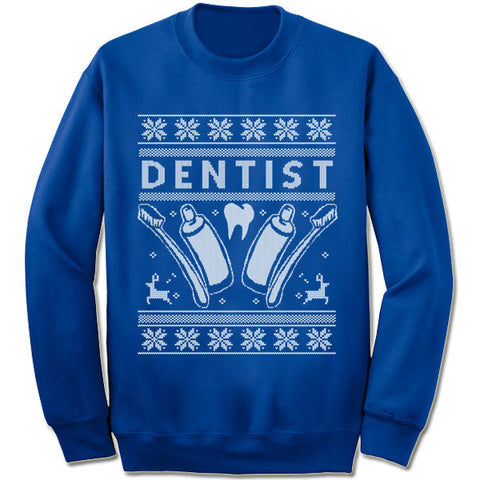 Dentist Christmas Sweatshirt