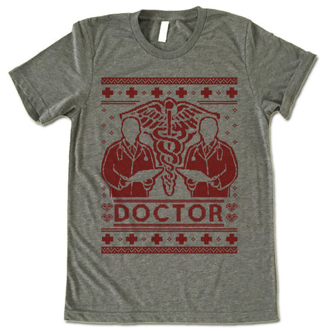 Doctor Christmas T Shirt