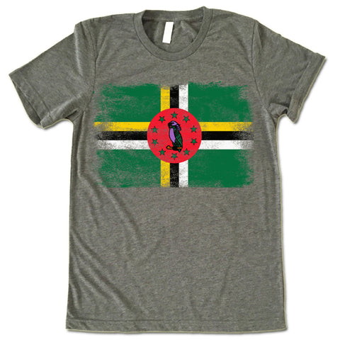 Dominica Flag Shirt