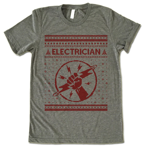 Electrician Christmas T Shirt