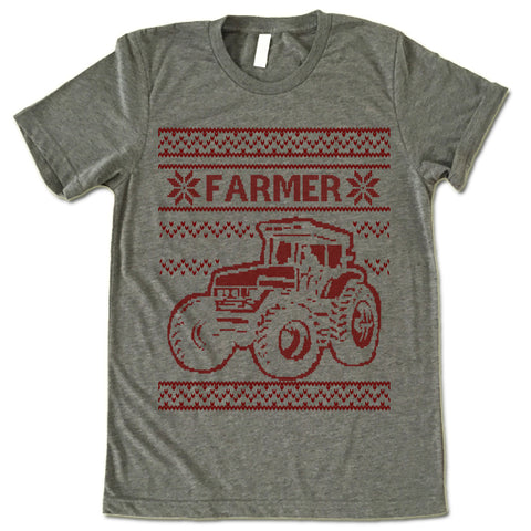 Farmer Christmas T Shirt