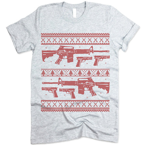 Guns Christmas T-Shirt