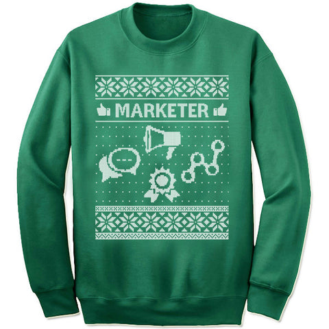 Marketer Christmas Sweatshirt