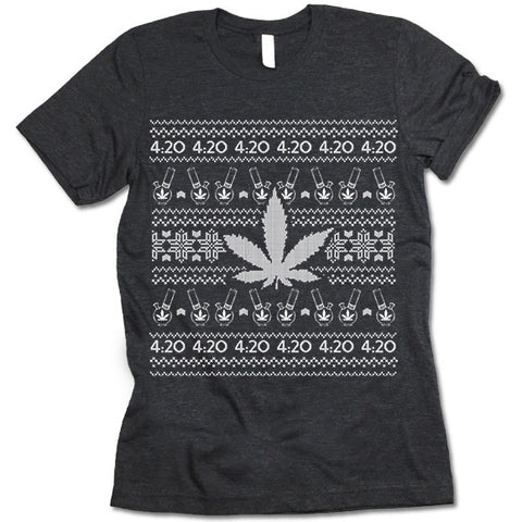 Marijuana Christmas Shirt