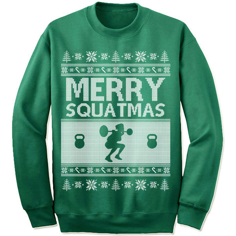 Merry Squatmas Sweater
