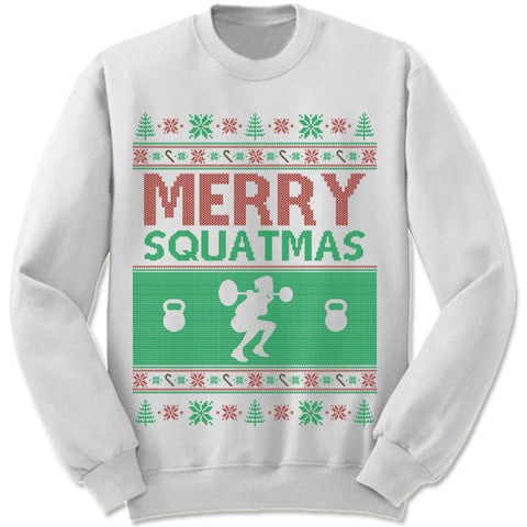Merry Squatmas Christmas Sweater