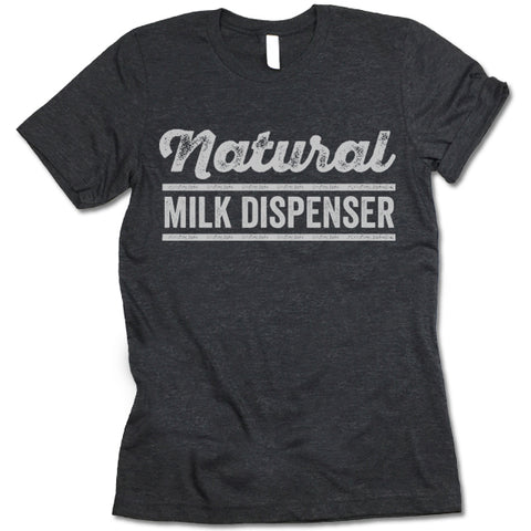 Natural Milk Dispenser Shirt